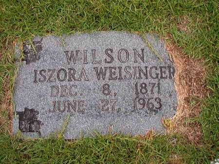 WILSON, ISZORA - Calhoun County, Arkansas   ISZORA WILSON - Arkansas Gravestone Photos