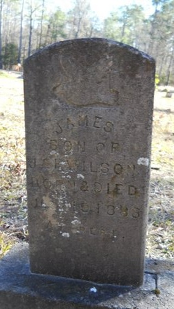 WILSON, JAMES - Calhoun County, Arkansas | JAMES WILSON - Arkansas Gravestone Photos