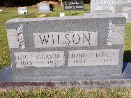 WILSON, JOHN CHARLES - Calhoun County, Arkansas | JOHN CHARLES WILSON - Arkansas Gravestone Photos
