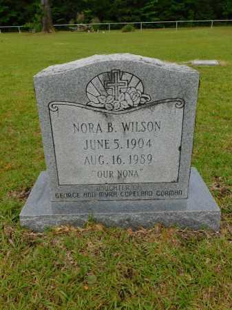 WILSON, NORA B - Calhoun County, Arkansas | NORA B WILSON - Arkansas Gravestone Photos