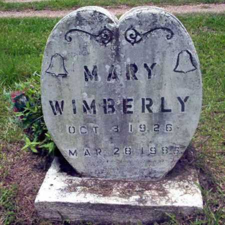 WIMBERLY, MARY - Calhoun County, Arkansas | MARY WIMBERLY - Arkansas Gravestone Photos