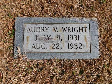 WRIGHT, AUDRY V - Calhoun County, Arkansas   AUDRY V WRIGHT - Arkansas Gravestone Photos