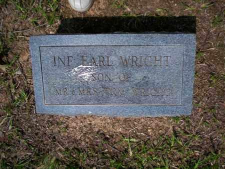 WRIGHT, EARL - Calhoun County, Arkansas | EARL WRIGHT - Arkansas Gravestone Photos
