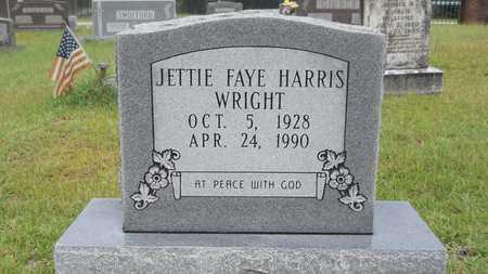 WRIGHT, JETTIE FAYE - Calhoun County, Arkansas | JETTIE FAYE WRIGHT - Arkansas Gravestone Photos