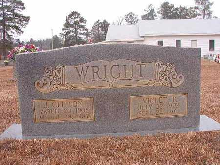 WRIGHT, VIOLET B - Calhoun County, Arkansas | VIOLET B WRIGHT - Arkansas Gravestone Photos