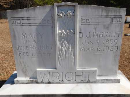 WRIGHT, MARY - Calhoun County, Arkansas | MARY WRIGHT - Arkansas Gravestone Photos