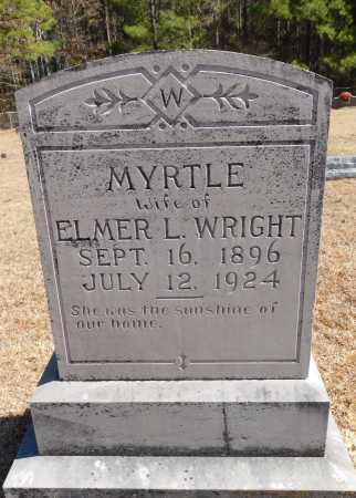WRIGHT, MYRTLE - Calhoun County, Arkansas | MYRTLE WRIGHT - Arkansas Gravestone Photos