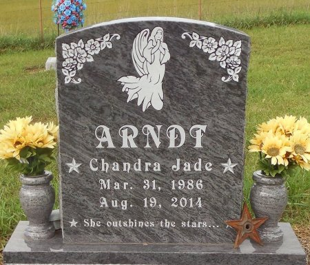 ARNDT, CHANDRA JADE - Carroll County, Arkansas | CHANDRA JADE ARNDT - Arkansas Gravestone Photos