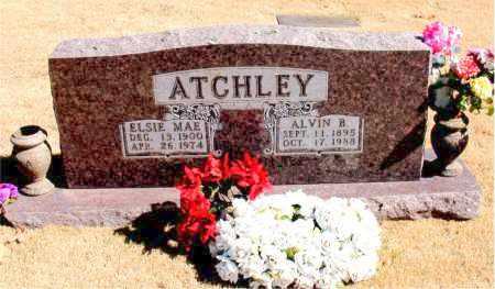 ATCHLEY, ELSIE MAE - Carroll County, Arkansas   ELSIE MAE ATCHLEY - Arkansas Gravestone Photos