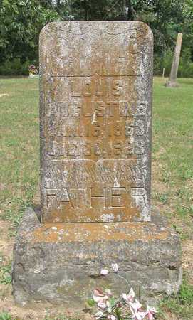 AUGUSTINE, LOUIS - Carroll County, Arkansas   LOUIS AUGUSTINE - Arkansas Gravestone Photos