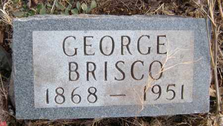 BRISCO, GEORGE - Carroll County, Arkansas   GEORGE BRISCO - Arkansas Gravestone Photos