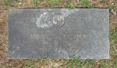 BROWN, MARY LANE - Carroll County, Arkansas | MARY LANE BROWN - Arkansas Gravestone Photos
