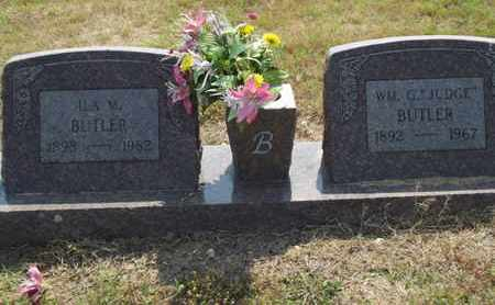 BUTLER, ILA M - Carroll County, Arkansas   ILA M BUTLER - Arkansas Gravestone Photos