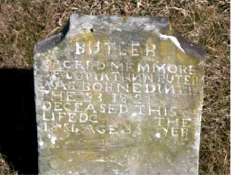 BUTLER, JONATHN W. - Carroll County, Arkansas   JONATHN W. BUTLER - Arkansas Gravestone Photos