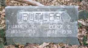 MOORE BUTLER, ELIZA CATHERINE - Carroll County, Arkansas | ELIZA CATHERINE MOORE BUTLER - Arkansas Gravestone Photos