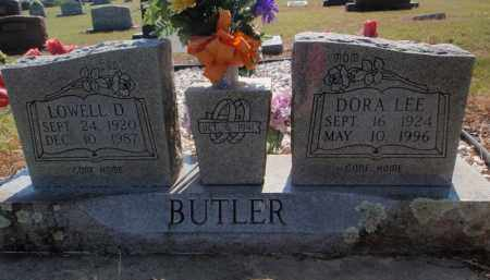 BUTLER, LOWELL D - Carroll County, Arkansas   LOWELL D BUTLER - Arkansas Gravestone Photos
