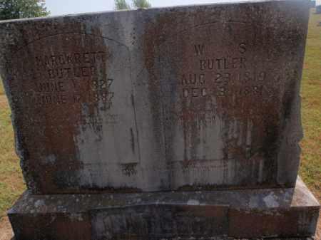 BUTLER, W S - Carroll County, Arkansas | W S BUTLER - Arkansas Gravestone Photos