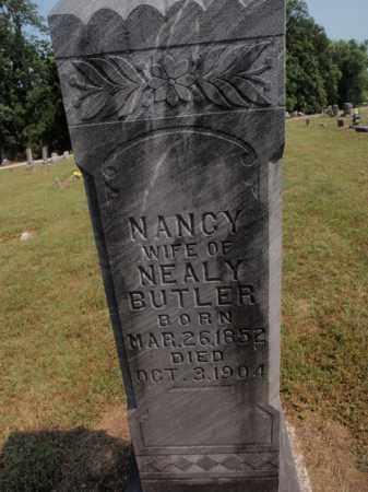 BUTLER, NANCY - Carroll County, Arkansas | NANCY BUTLER - Arkansas Gravestone Photos