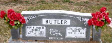 BUTLER, FLOYD H., REV. - Carroll County, Arkansas   FLOYD H., REV. BUTLER - Arkansas Gravestone Photos