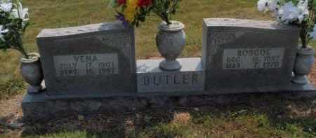 BUTLER, VENA - Carroll County, Arkansas | VENA BUTLER - Arkansas Gravestone Photos