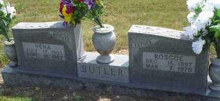 BUTLER, ROSCOE - Carroll County, Arkansas | ROSCOE BUTLER - Arkansas Gravestone Photos