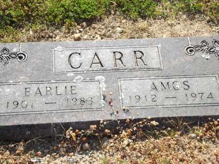 CARR, EARLIE - Carroll County, Arkansas   EARLIE CARR - Arkansas Gravestone Photos