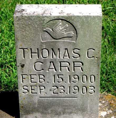 CARR, THOMAS C - Carroll County, Arkansas   THOMAS C CARR - Arkansas Gravestone Photos