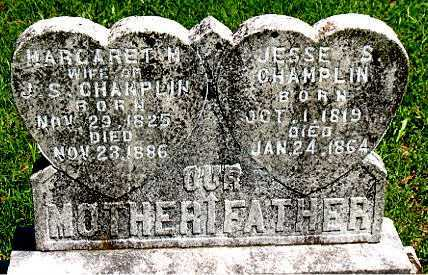 CHAMPLIN, MARGARET M. - Carroll County, Arkansas | MARGARET M. CHAMPLIN - Arkansas Gravestone Photos
