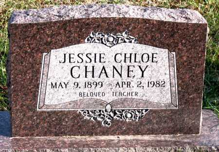 CHANEY, JESSIE  CHLOE - Carroll County, Arkansas | JESSIE  CHLOE CHANEY - Arkansas Gravestone Photos