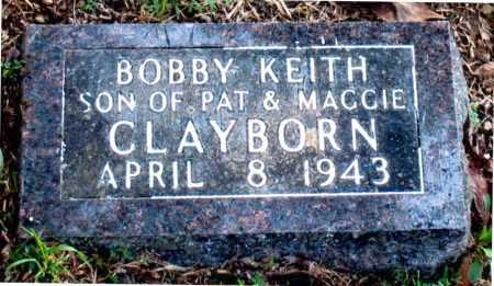 CLAYBORN, BOBBY KEITH - Carroll County, Arkansas | BOBBY KEITH CLAYBORN - Arkansas Gravestone Photos