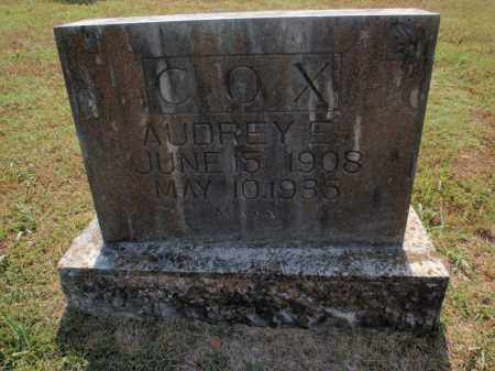 COX, AUDREY E - Carroll County, Arkansas | AUDREY E COX - Arkansas Gravestone Photos