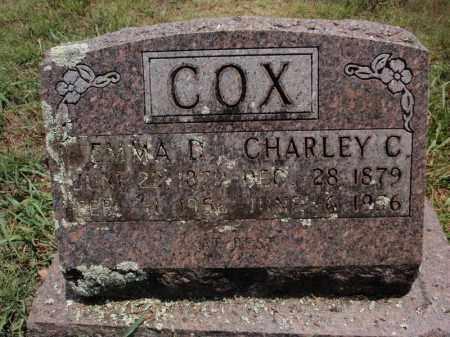 COX, CHARLEY C - Carroll County, Arkansas | CHARLEY C COX - Arkansas Gravestone Photos