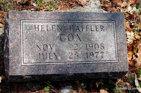 COX, HELEN - Carroll County, Arkansas | HELEN COX - Arkansas Gravestone Photos