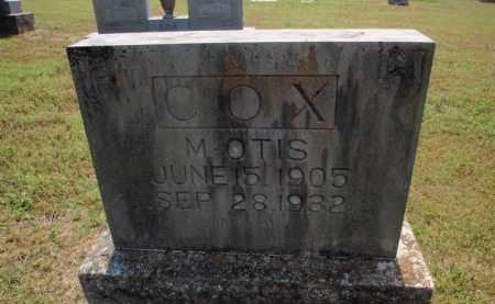 COX, M OTIS - Carroll County, Arkansas | M OTIS COX - Arkansas Gravestone Photos