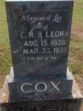 COX, MAYNARD LEE - Carroll County, Arkansas | MAYNARD LEE COX - Arkansas Gravestone Photos
