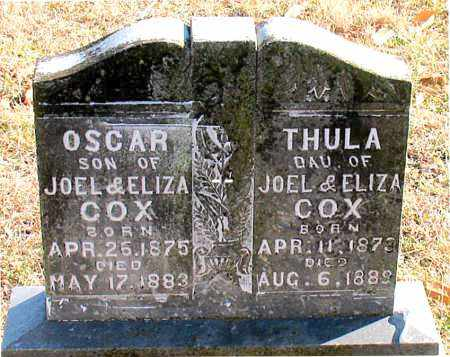COX, OSCAR - Carroll County, Arkansas | OSCAR COX - Arkansas Gravestone Photos