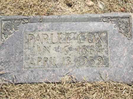 COX, PARLEE - Carroll County, Arkansas | PARLEE COX - Arkansas Gravestone Photos