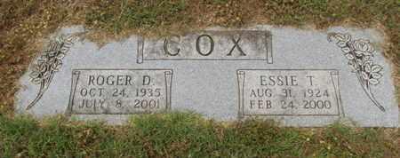COX, ESSIE T - Carroll County, Arkansas   ESSIE T COX - Arkansas Gravestone Photos