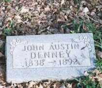 DENNEY, JOHN AUSTIN - Carroll County, Arkansas | JOHN AUSTIN DENNEY - Arkansas Gravestone Photos