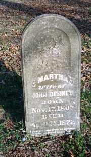 DENNEY, MARTHA - Carroll County, Arkansas   MARTHA DENNEY - Arkansas Gravestone Photos