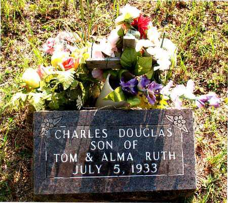 DOUGLAS, CHARLES - Carroll County, Arkansas | CHARLES DOUGLAS - Arkansas Gravestone Photos