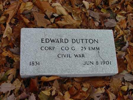 DUTTON (VETERAN UNION), EDWARD - Carroll County, Arkansas | EDWARD DUTTON (VETERAN UNION) - Arkansas Gravestone Photos