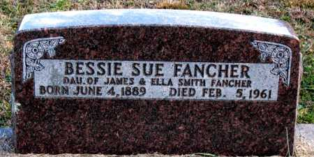 FANCHER, BESSIE SUE - Carroll County, Arkansas | BESSIE SUE FANCHER - Arkansas Gravestone Photos