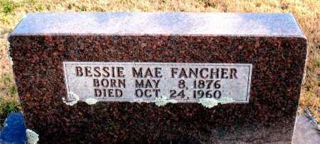 FANCHER, BESSIE MAE - Carroll County, Arkansas | BESSIE MAE FANCHER - Arkansas Gravestone Photos