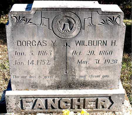 FANCHER, DORCAS Y - Carroll County, Arkansas | DORCAS Y FANCHER - Arkansas Gravestone Photos