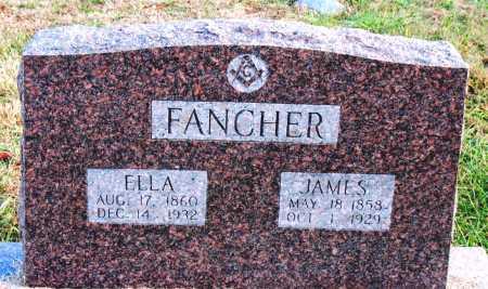 SMITH FANCHER, ELLA - Carroll County, Arkansas | ELLA SMITH FANCHER - Arkansas Gravestone Photos