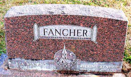 FANCHER, WILKINS KENNER - Carroll County, Arkansas | WILKINS KENNER FANCHER - Arkansas Gravestone Photos