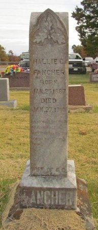 FANCHER, HALLIE C - Carroll County, Arkansas | HALLIE C FANCHER - Arkansas Gravestone Photos