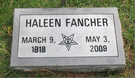 FANCHER, HALEEN - Carroll County, Arkansas | HALEEN FANCHER - Arkansas Gravestone Photos
