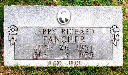 FANCHER, JERRY RICHARD - Carroll County, Arkansas   JERRY RICHARD FANCHER - Arkansas Gravestone Photos